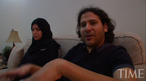Waleed Abu al-Khair in one of weekly Salons he hosted at house in Jeddah in 2012- TIME video